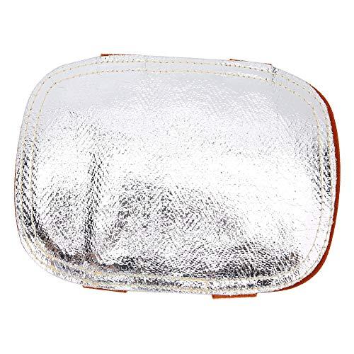 con protector de mano Protector de mano posterior, protector de calor de mano, para fundición de metal de caldera industrial