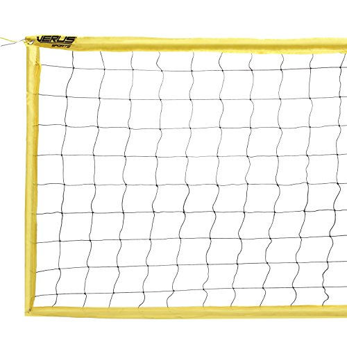 Verus Sports Expert Volleyball Net with Steel Cable