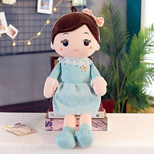 N / A 40cm Girls Princess Dolls Baby Stuffed Plush Doll Toys Kids Soft Peluches Valentine Niños Cumpleaños 40cm
