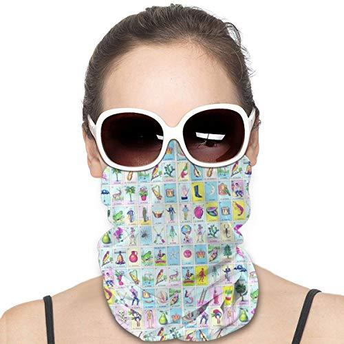 Loteria - Protector facial multiuso para pasamontañas y pasamontañas