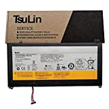 TsuLin L12M4P62 Laptop Battery Replacement for Lenovo Ideapad U530 Touch 80AS U530-20289 Series Notebook L12L4P62 121500199 121500200 7.4V 52Wh 7100mAh Long Line