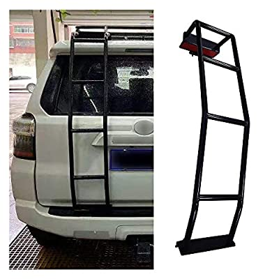 Durable Rear Ladder Accessories for 4Runner Steel Tailgate Ladders Compatible with 2010-2020