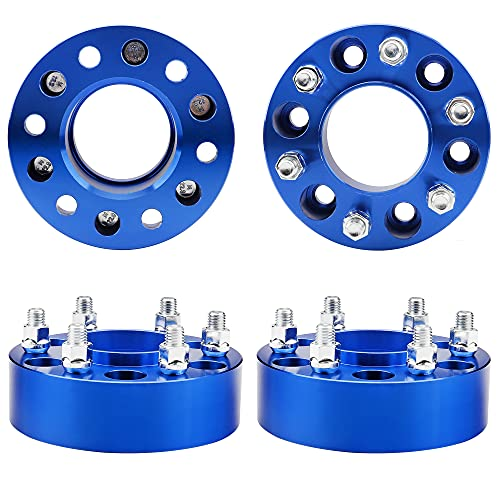 Ryin 6x135 Blue Wheel Spacers for 2004-2014 F150 Expedition Lincoln Navigator...