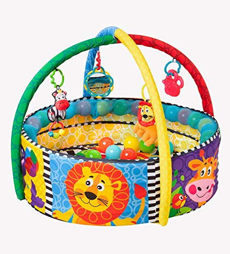 Playgro 0184007 Ball Activity Nest for Baby Infant Toddler Children, Playgro is Encouraging Imagination with STEM/STEM for a Bright Future - Great Start for a World of Learning