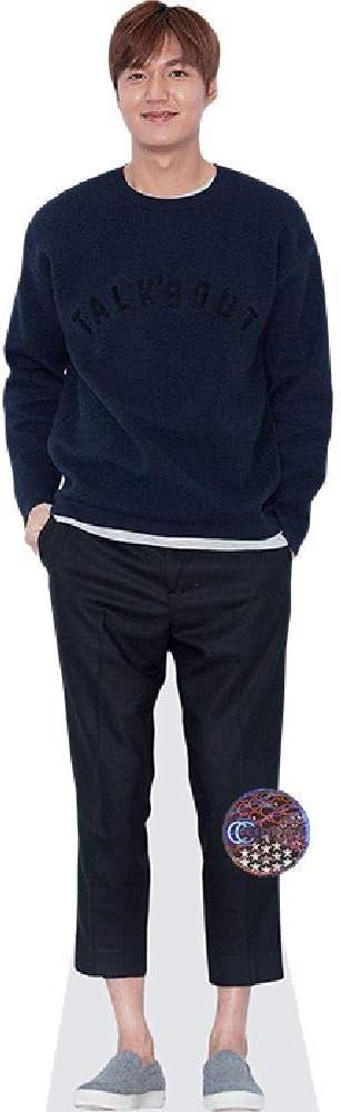 Celebrity Cutouts Lee Min-Ho Blue Outfit Pappaufsteller lebensgross