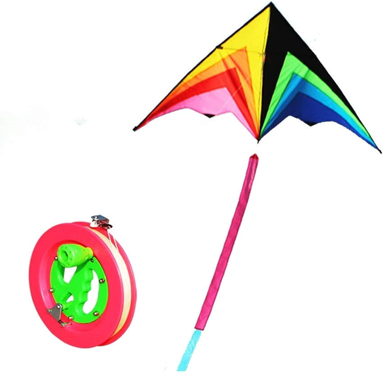 Aquilone Ad Alta Scala Coloreeato per Bambini A Coda Lunga Facile da Volare (Sette Scelte) (Coloreee   C)
