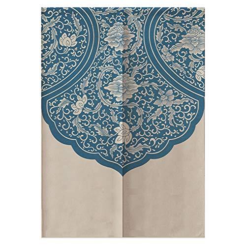 Wifehelper Einfache Japanischen Stil Halbschatten Vorhänge Dekorative Tür Raumteiler für Schlafzimmer Küche 85 * 120 cm