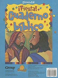 VBS-Fiesta-Cuaderno Biblico Elemental (Group's Fiesta! Where Kids Are Fired Up about Jesus) (Spanish Edition)