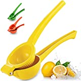 Zulay Premium Quality Metal Lemon Squeezer, Citrus Juicer, Manual Press for Extracting the Most...