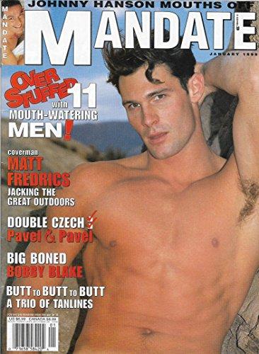 Matt Fredrics l Johnny Hanson l Bobby Blake l European Gay Orgies - January, 1999 Mandate