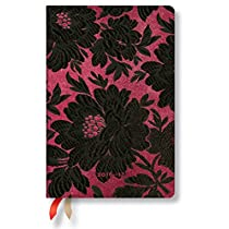 Paperblanks Dayplanners 2017 Black Dahlia Mini Day-at-a-Time 12Months DE3327-1 英語版 正規輸入品