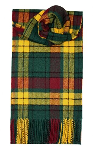 I LUV LTD MacMillan Old Tartan Scarf Modern Lambswool