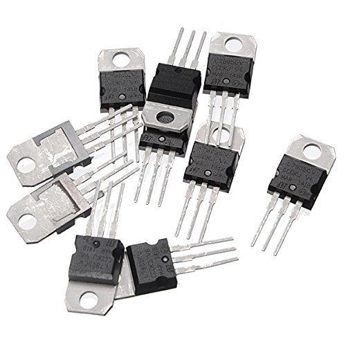 Ils - 10Unids L7805CV TO220 L7805 TO-220 7805 LM7805 MC7805 Original IC