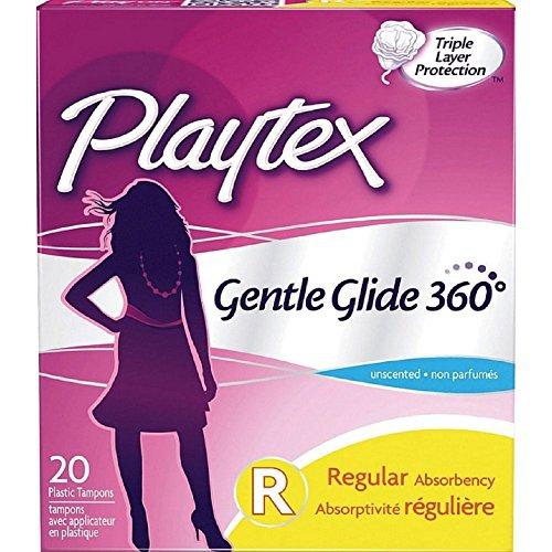Playtex Gentle Glide 360 Tampons - Regular - 20 ct