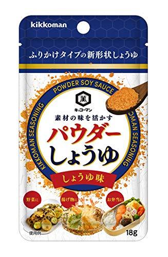 キッコーマン食品 パウダーしょうゆ しょうゆ味 18g×4個