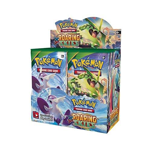 The Pokemon Company XY Série 6 Ciel Rugissant Présentoir avec Jeux de Cartes Booster