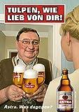 ASTRA Bier Werbung/Reklame Plakat DIN A1 59,4 x 84,1cm