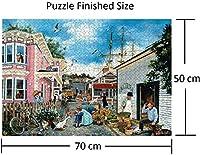 A960 JigsPuzzle1000ピース大人用ドックタウン大パズル大人子供パズル知的教育パズル家の装飾