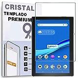 REY Protector de Pantalla para Lenovo Tab 4 10', Cristal Vidrio Templado Premium