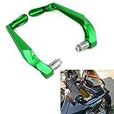 Protector de manillar de freno para manillar de 7/8 pulgadas universal para la mayoría deportivas motocross y motocicletas Kawasaki KX125 KX250 KX250F KX450F KLX250 Enduro