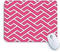 Mabby マウスマット ゲーミング オフィス マウス パッド,Samurai Fret Pattern Greek Key Border Asian Chinese,Non-Slip Rubber Base Mousepad for Laptop Computer PC Office,Cute Design Desk Accessories