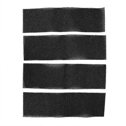Luchtfilter spons, actieve kool spons, 4 stks/set Luchtfilter koolstof actieve spons, luchtfilter voor AC4800 filter B FLT4825, hoogwaardig actief kool sponsmateriaal