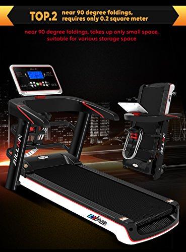 Billna A6 Foldable Treadmill Pro-runner Slimline