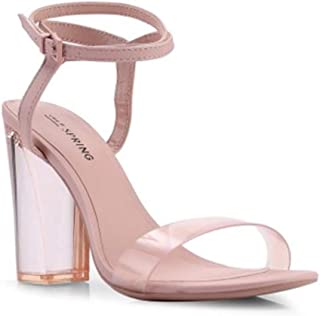 e4af01c948f Call It Spring Ocalide Ankle Strap Block Heel Sandals