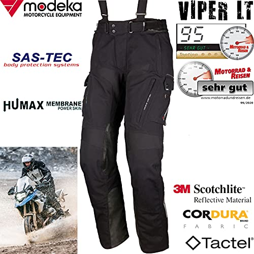 Modeka Viper LT Motorrad Textilhose 6XL