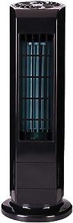 USB Mini ventilador de aire acondicionado portátil sin hojas Torre del ventilador eléctrico Negro