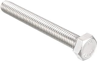 Full Thread 18-8 Metric Hex Head Cap Screws 60 pcs M5 X 8mm DIN 933 Aspen Fasteners AISI 304 Stainless Steel