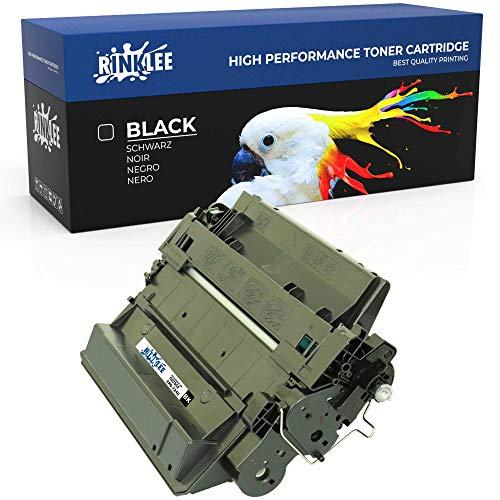 RINKLEE CE255X 724H Tonerkartusche kompatibel für HP Laserjet P3010 P3015 P3015D P3015DN P3015X Enterprise 500 MFP M525DN M525F Canon i-SENSYS LBP6750dn | hohe Reichweite 12500 Seiten Schwarz