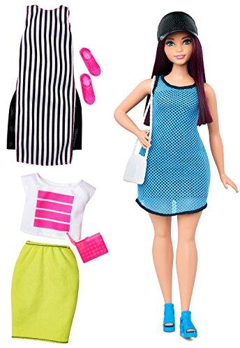 Barbie - Muñeca Fashionista, Loca por el Azul (Mattel DTF01