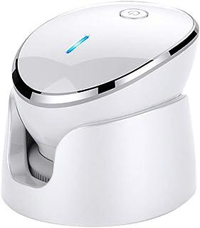 洗顔ブラシ ボディブラシ 電動音波洗顔 食品級シリコン洗顔器 記憶機能付き クレンジングブラシ 毛穴ケア アニオン導入 防水 充電式 顔マッサージャー器 (レット)
