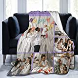 Custom Blanket Personalized Blanket with Photos Text Customized Collage Throw Blanket for Adults Kids