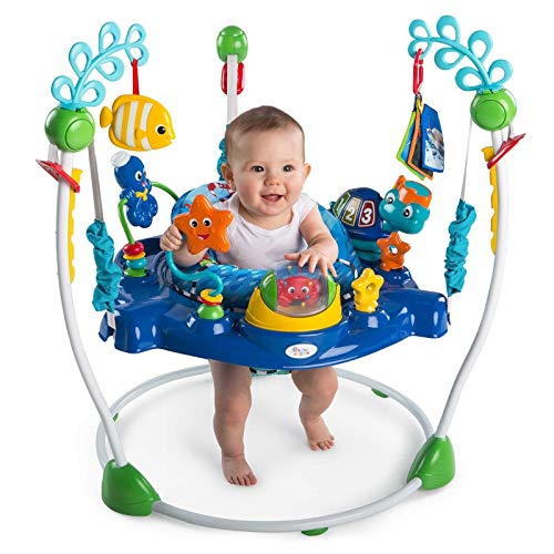 Xiangtat Baby Neptune's Ocean Discovery Jumper, Activities Jumperoo , Multifunctional Baby Jumper Infant Bouncer Walker Rocking chiar Baby cardle