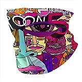 N/W Adam Levine Headwear Écharpe magique coupe-vent, anti-UV, cache-cou, masque de sports de plein air pour femme et homme