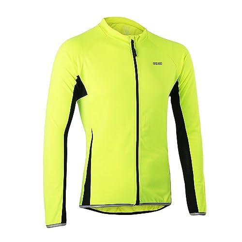 5ae0aa7980b562 Lixada Ciclismo Abbigliamento Sport Ciclismo Maglia Bicicletta Manica Lunga  Maglia MTB Maglia Abbigliamento