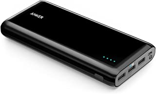 [Upgraded Capacity] Anker Astro E7 Ultra-High Capacity 26800mAh 3-Port 4A Compact Portable Charger External Battery Power Bank with PowerIQ Technology for iPhone, iPad, Samsung and More (Black)