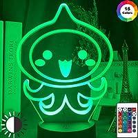 アニメワンピースLEDナイトライトロロノアゾロフィギュア子供のための子供の寝室の装飾USBテーブル3Dランプギフト
