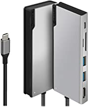 ALOGIC USB-C 6-in-1 Dock,4k HDMI, 100W Power Delivery, 2 X USB3.0 Hub, Card Reader - Space Grey