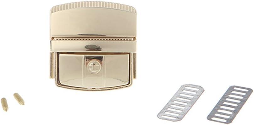 RipengPI bolsa de cierre de cierre hebilla de cierre de cierre a presi/ón para bolso accesorios para bolso de mujer NA