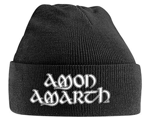 Amon Amarth Logo Negro Beanie