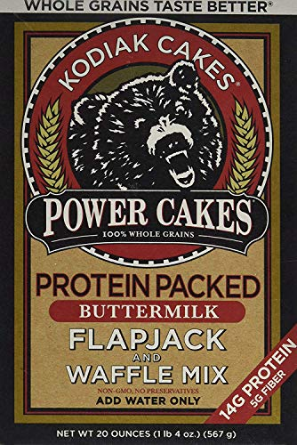 Kodiak Cakes Whole Grain Power Cakes Flapjack and Waffle Mix - Original Buttermilk - 20 oz (1lbs 4 oz)