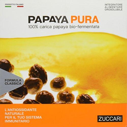 Zuccari Papaya Pura Integratore Alimentare Energizzante Antiossidante - 30 Bustine