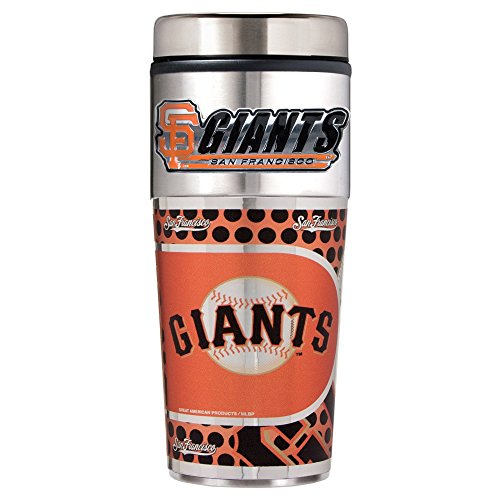 San Francisco Giants MLB 2pc Rocks Glass Set - Primary Logo