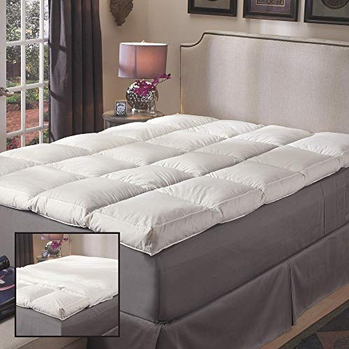 Super Snooze 5-inch 230 Thread Count Baffled Featherbed...
