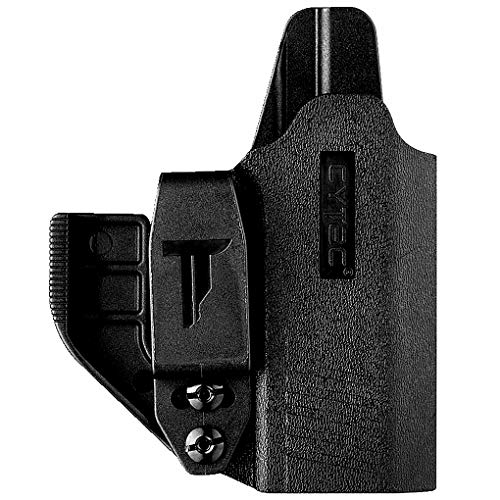Ambidextrous IWB Holster for Sig Sauer P365 Micro-Compact Size 9mm / Sig P365 XL / Sig P365 SAS - Polymer Belt Clip W/Claw Kit(Tuckable) | Adjustable Cant | Inside Waistband | Right Hand & Left Hand