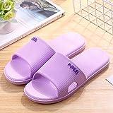 nohbi Zapatillas de casa de Fondo Suave,Zapatillas Antideslizantes en el baño, Zapatillas Suaves en casa, Morado_38-39,Zapatillas de Piscina cómodas