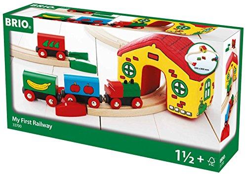 Brio - Jouet Premier Age - Mon premier circuit de train